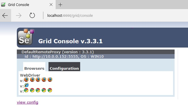How to set up a Selenium Grid for Remote WebDriver Execution