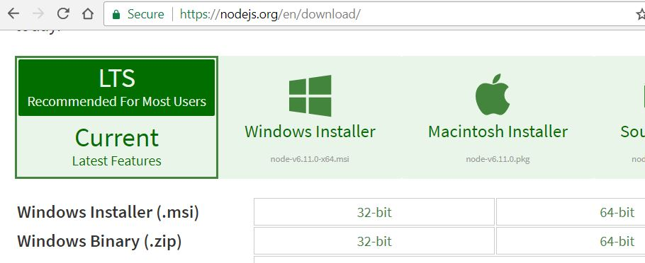 How to Install Node and Appium Server on Windows