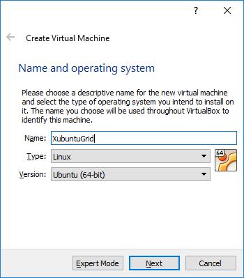 VM Name and OS